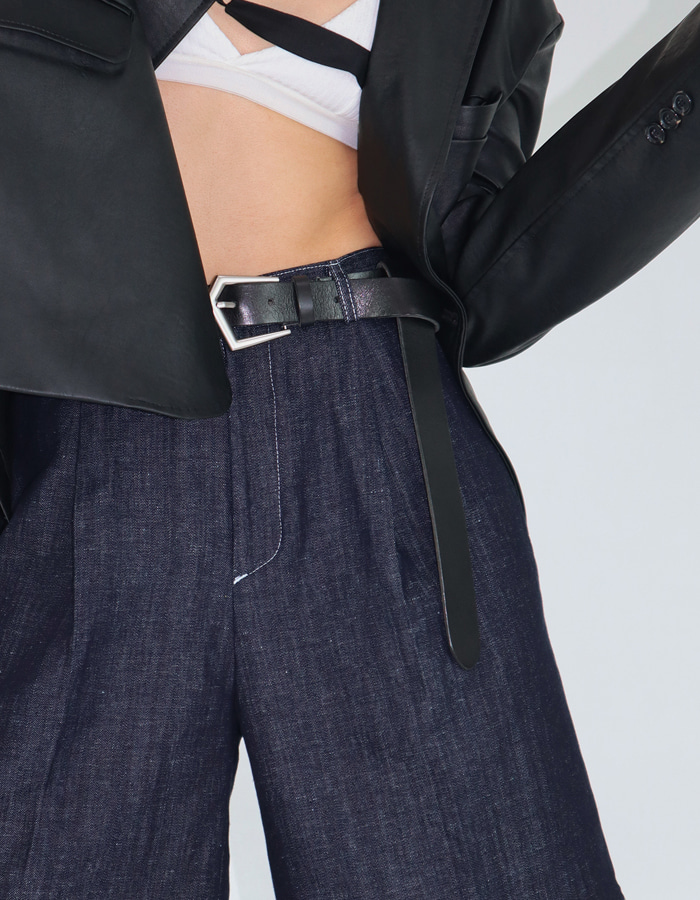 UNISEX BIG BUCKLE BELT