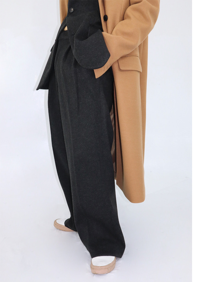 Unisex wool slacks (3 color)