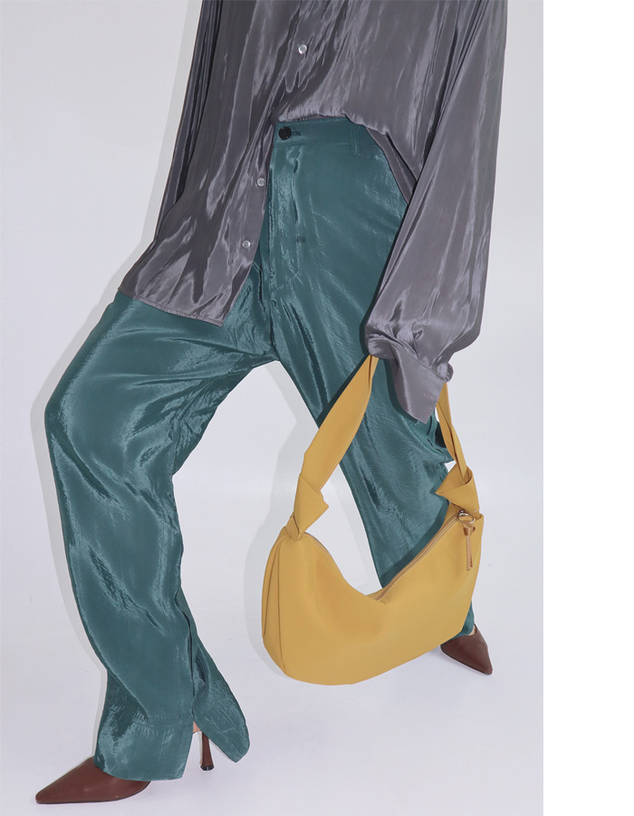 Unisex Silky Banding Pants (2 Color)