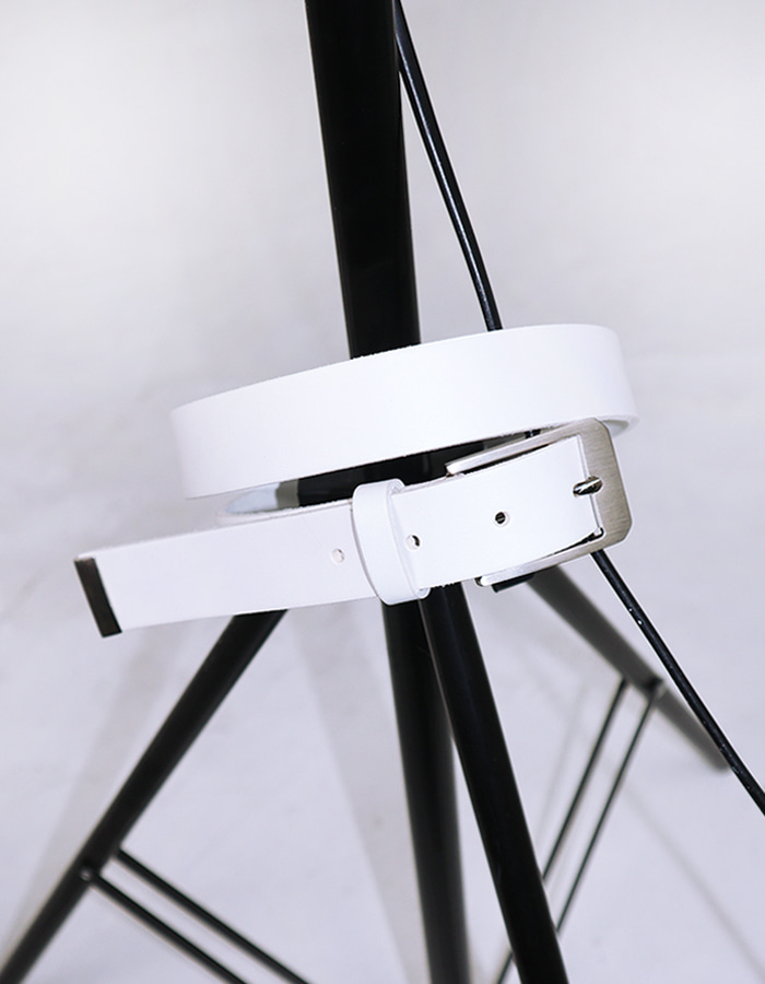Square belt (White)